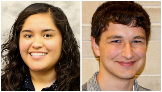 Adam Ripp, Stefani Perez named UNK Greek Man, Woman of the year
