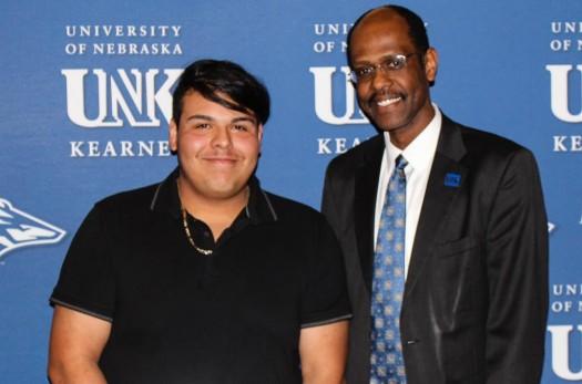 Outstanding Student Organization Leader Miguel Baeza Aguilera, Grand Island