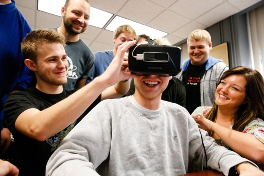 A LOOK BACK: Computer Science, IT students innovate in virtual reality world