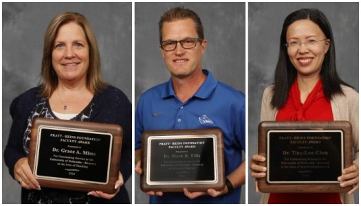Chen, Ellis, Mims receive prestigious Pratt-Heins Award