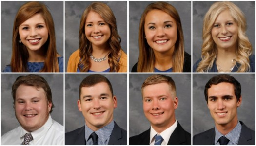 UNK names eight finalists for 2016 homecoming royalty