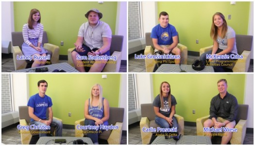VIDEO: Homecoming Candidate 'Whisper Challenge'