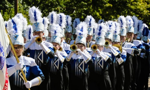 Kearney High School wins top parade honors at UNK Band Day