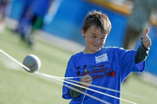 Kids Fitness and Nutrition Day brings 700 fourth graders to UNK campus