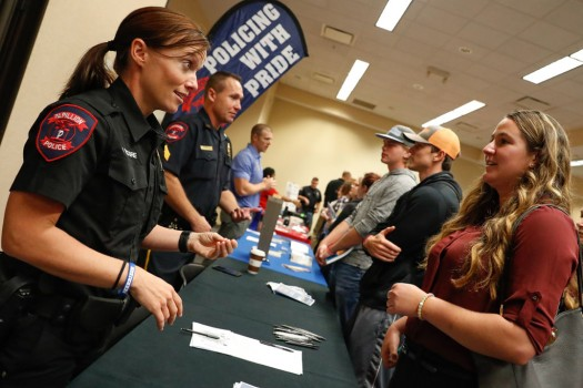 PHOTO GALLERY: Criminal Justice Conference, Career Fair