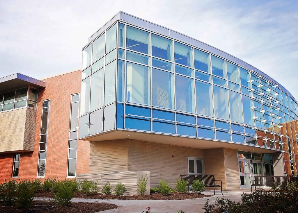 The $19 million Health Science Education Complex opened in August 2015 on the University of Nebraska at Kearney campus.
