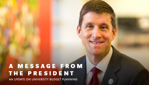 President Bounds addresses fiscal uncertainties; Working with chancellors to manage cuts