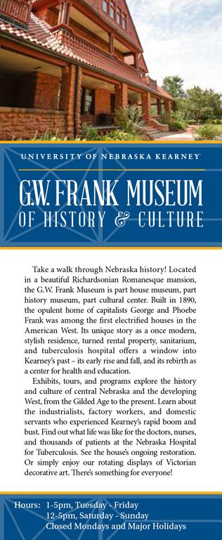 Frank Museum Rack Card 1