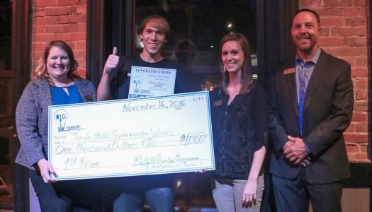 Jonah Staab's skateboard wheel innovation wins Big Idea Kearney