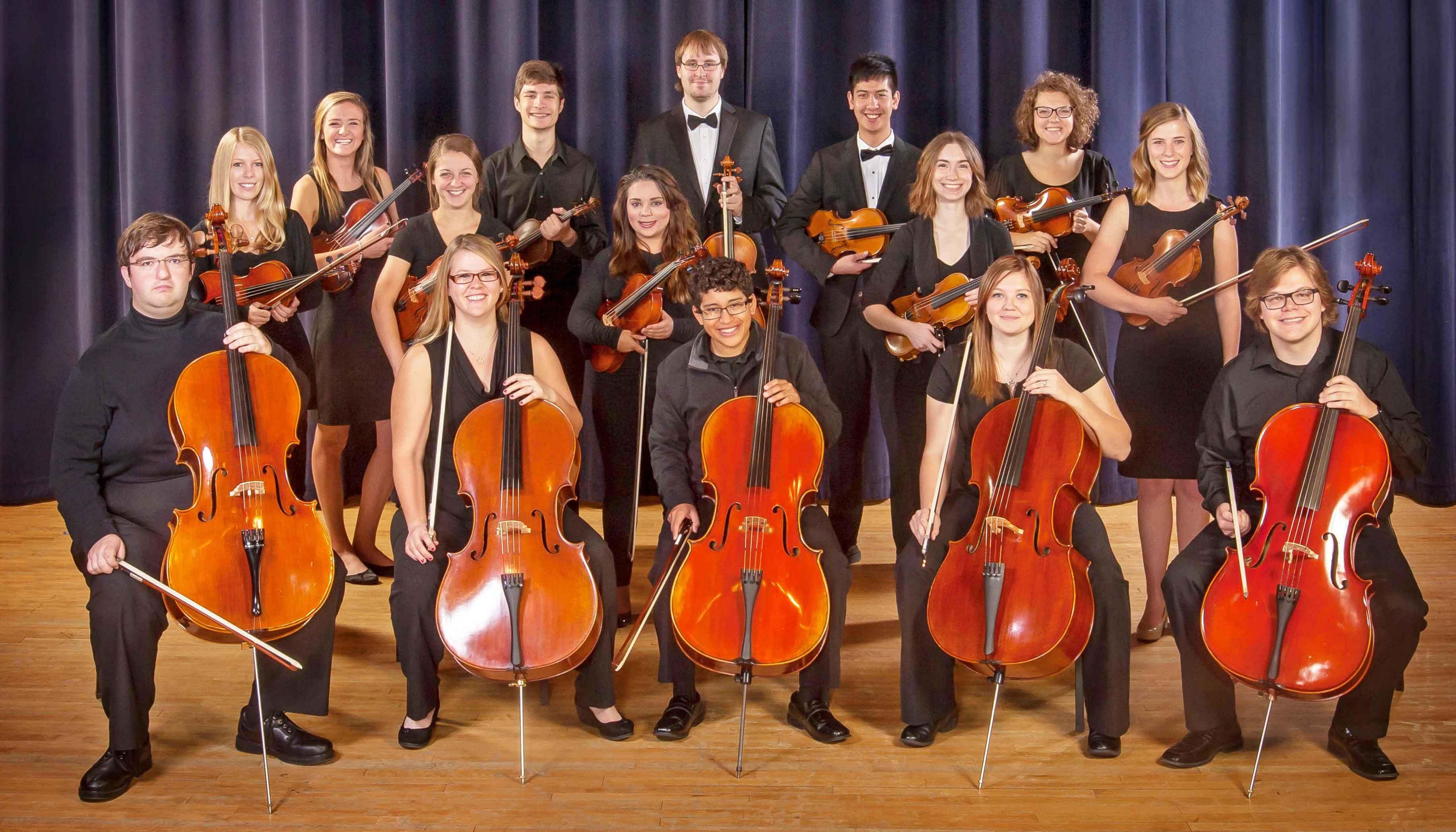 String Program Concert Features Violin Viola Cello Double