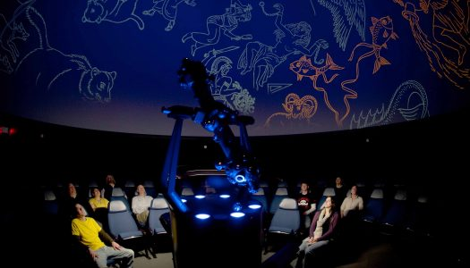 The UNK Planetarium is hosting five shows leading up to Aug. 21, when a total solar eclipse will occur across the United States. The Kearney are is on the path of totality and is one of the few cities to experience total darkness.