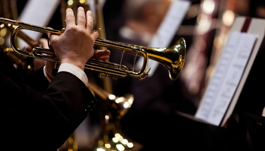 Photo of trumpet player