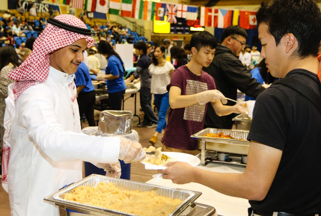 Sunday's International Food and Cultural Festival at UNK features food from 13 countries, as well as entertainment by international students. The event is from 4 to 7 p.m. at the Health and Sports Center.