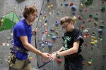 Exercise science students help Boy Scouts earn merit badges
