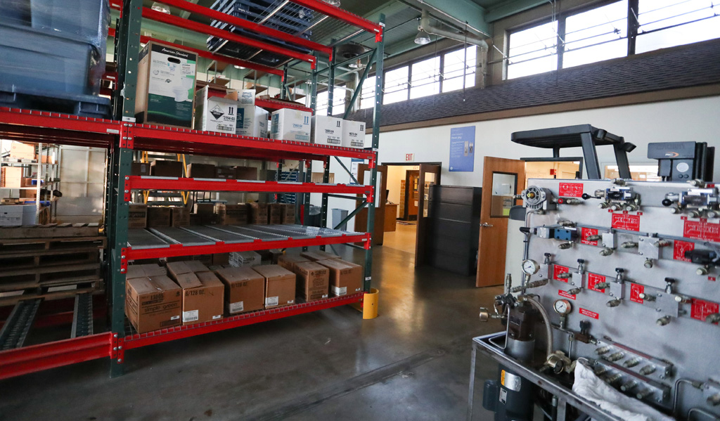 """""""A building doesn't make programs, but it can enhance them. We have good solid programs here. A building creates a newness and excitement. You can bring new technologies into it and there's functionality that it will bring,"""" said Jim Vaux, chair of the Industrial Distribution Department."""