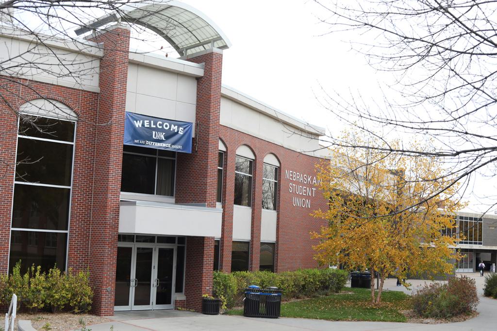 The University of Nebraska at Kearney student union will undergo a $6 million renovation following Nebraska Board of Regents approval Friday. (Photo by Corbey R. Dorsey/UNK Communications)