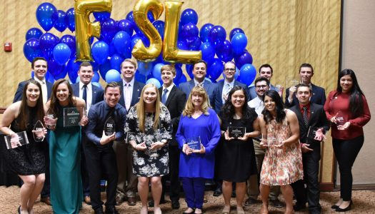 Luke Grossnicklaus, Kylie Kenedy named Greek Man and Woman of Year