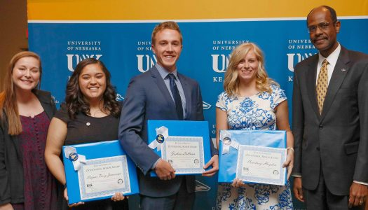 UNK Alumni Association recognizes five Outstanding Seniors