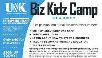 Biz Kidz Camp offers entrepreneurial, business startup skills; Registration ends June 2