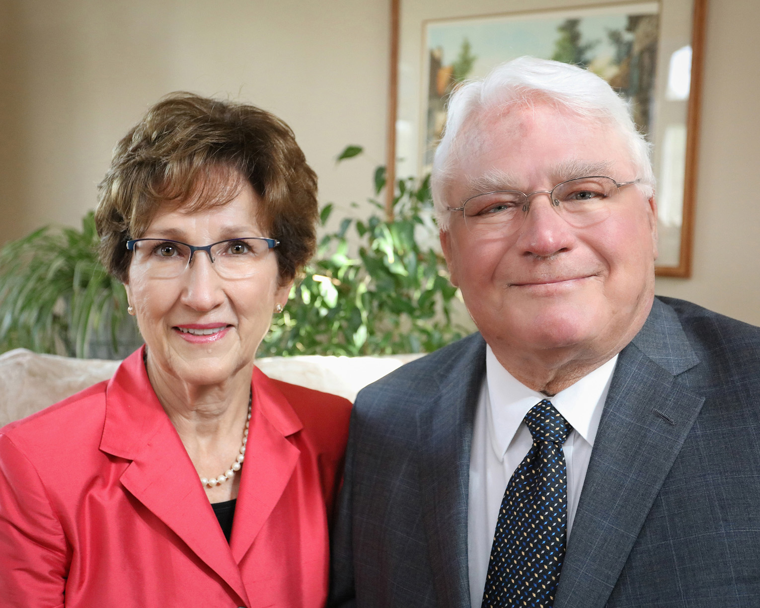 Marilyn and Galen Hadley of Kearney are the recipients of the Cope Cornerstone of Excellence Award. They will be recognized at Friday's commencement at UN