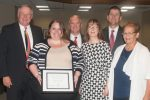 Rebecca Dobry receives KUDOS award from NU Board of Regents