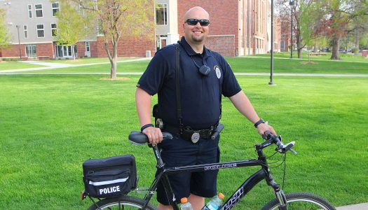 UNK Police officer Ricci Fast receives MADD Hero Award