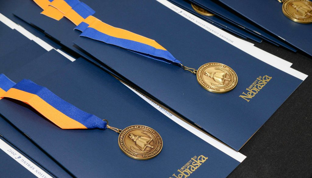 Commencement Medals Photo