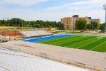 PHOTO GALLERY: UNK FieldTurf project nearing final stages of installation