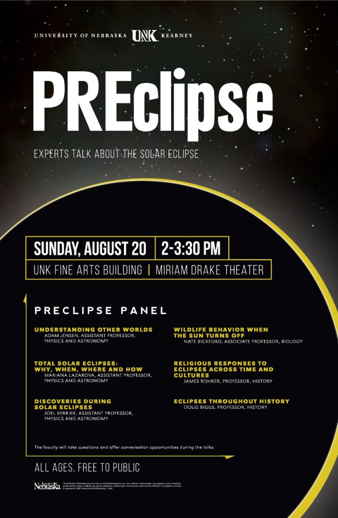 PREclipse panel graphic