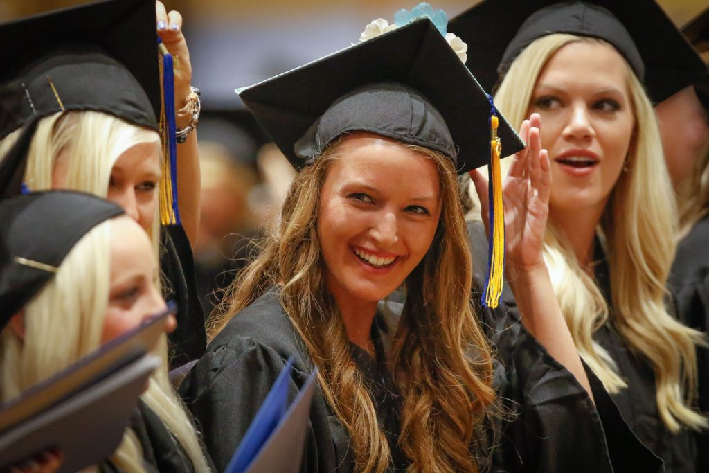 UNK Commencement Photo