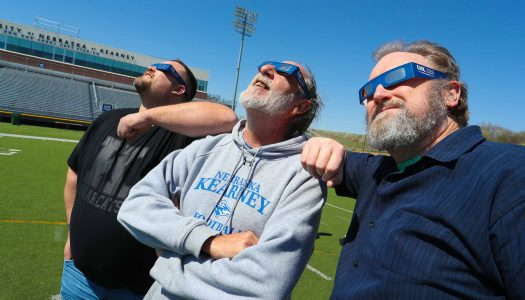 UNK says plan ahead; Shares final update on Monday's eclipse Watch Party