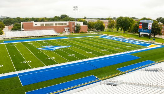 Foster Field, New Turf