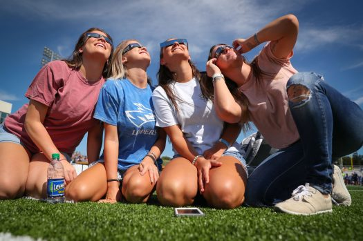 VIDEO HIGHLIGHTS: Great American Eclipse Watch Party at UNK