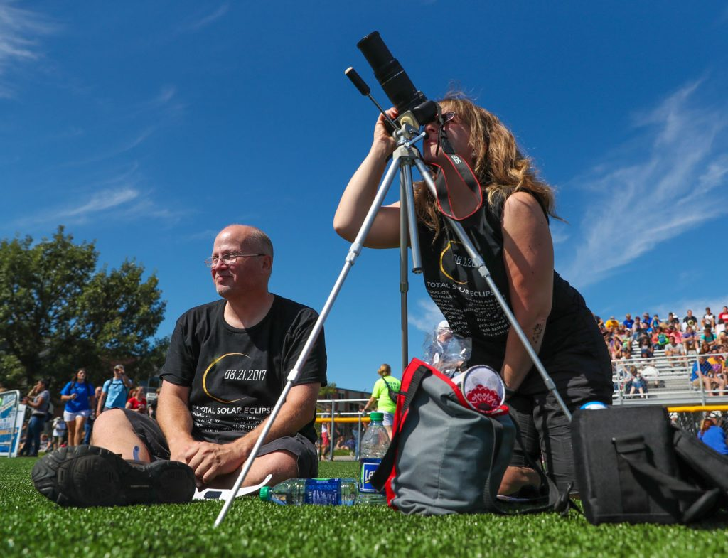 Total Solar Eclipse UNK Watch Party