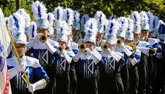 UNK Band Day parade features 19 area schools Saturday