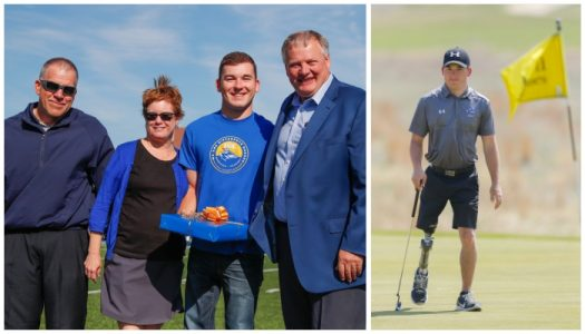 Family support helps Grossnicklaus deal with disability, follow own path