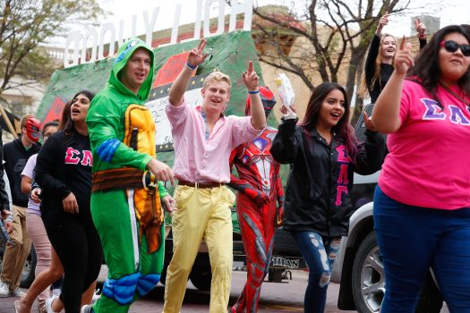 PHOTO GALLERY: UNK Homecoming Parade 2017