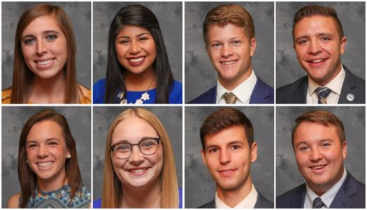 UNK names eight finalists for 2017 homecoming royalty