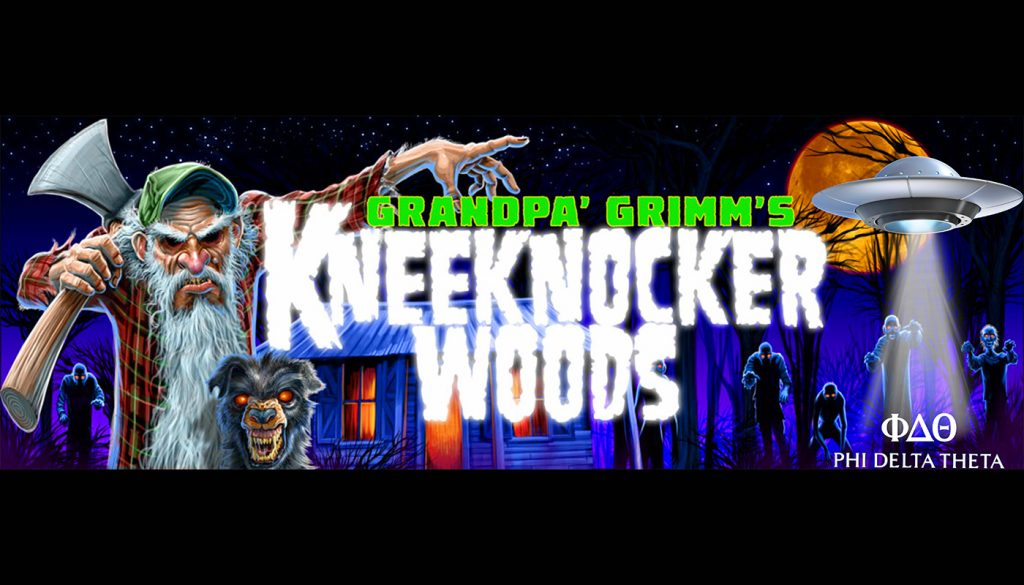 Kneeknocker Woods Graphic