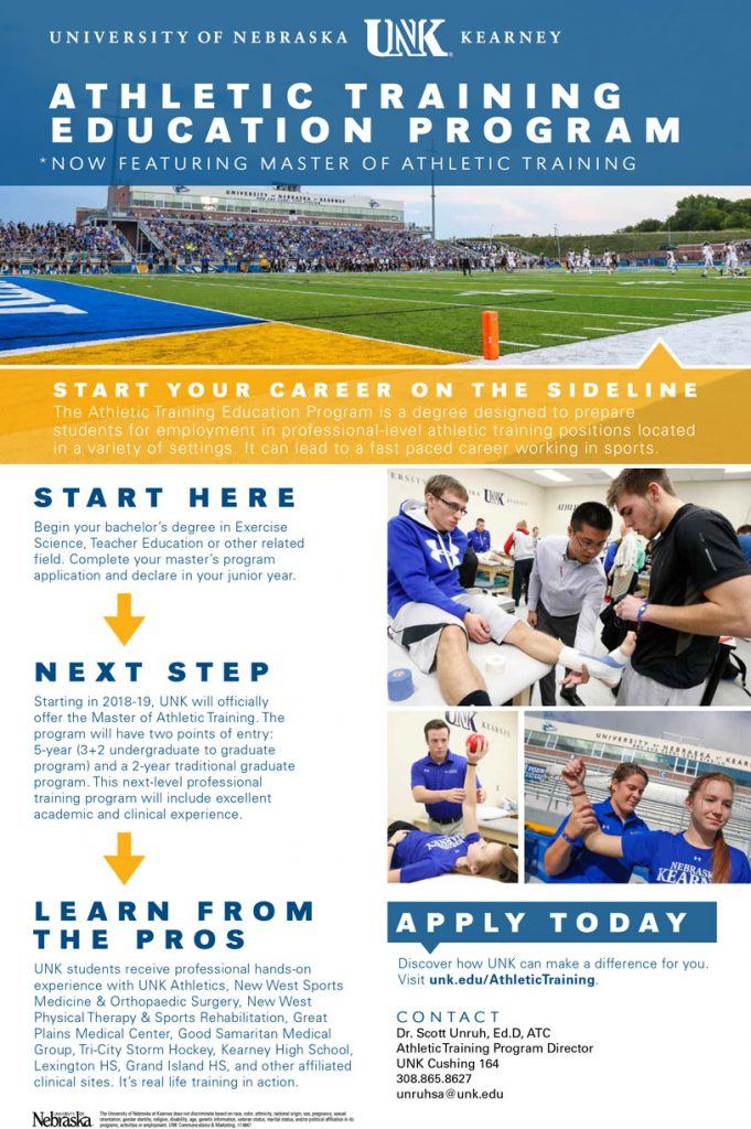 Graduate Athletic Training Programs ( MSAT, DAT)
