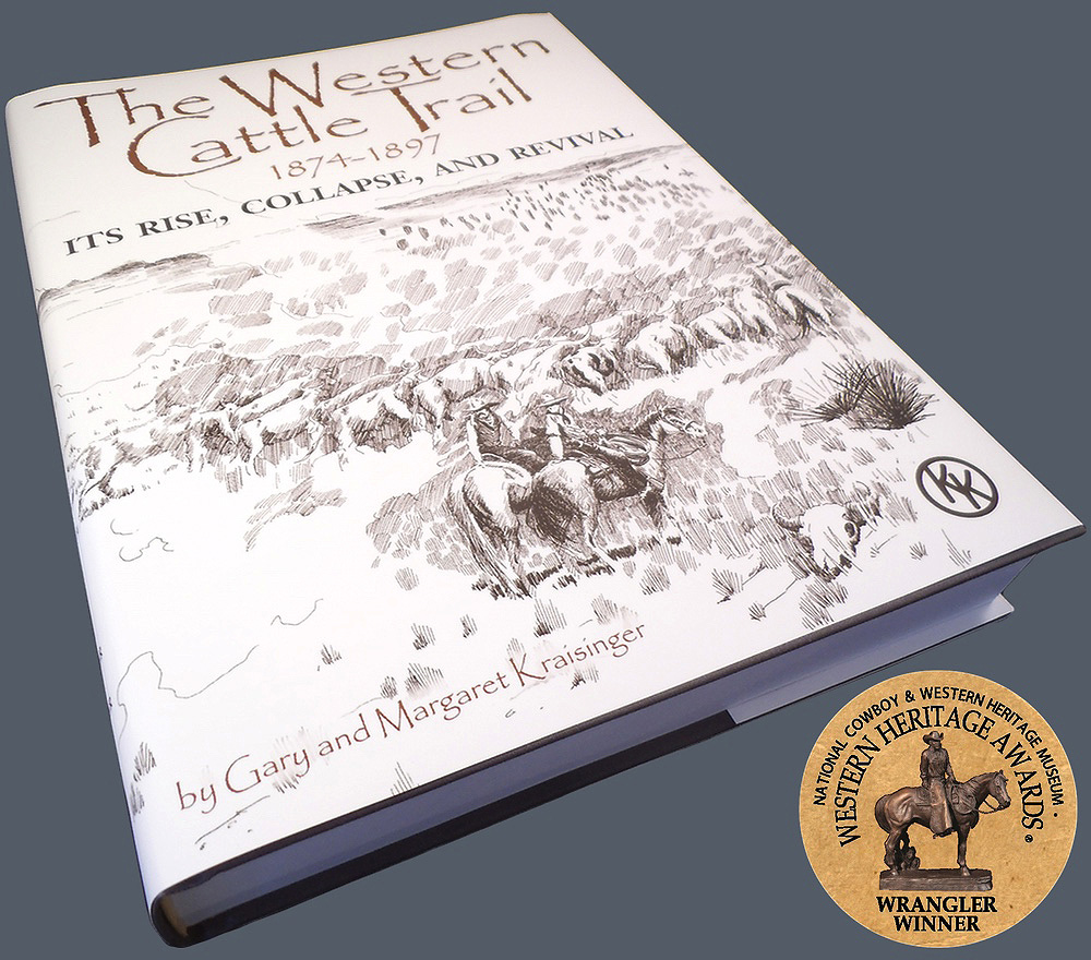 """The Western Cattle Trail, 1874-1897, its Rise, Collapse, and Revival"""