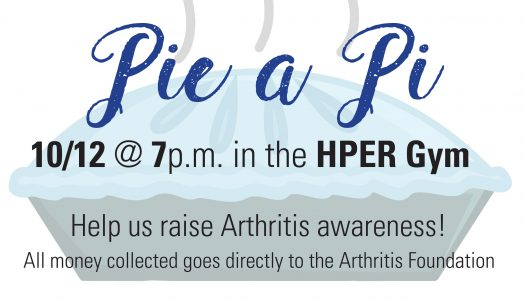 AOII hosting Pie a Pi event to raise money for Arthritis Foundation