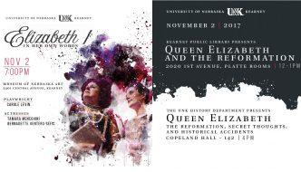 Queen Elizabeth focus of Nov. 2 presentation, lecture, play performance