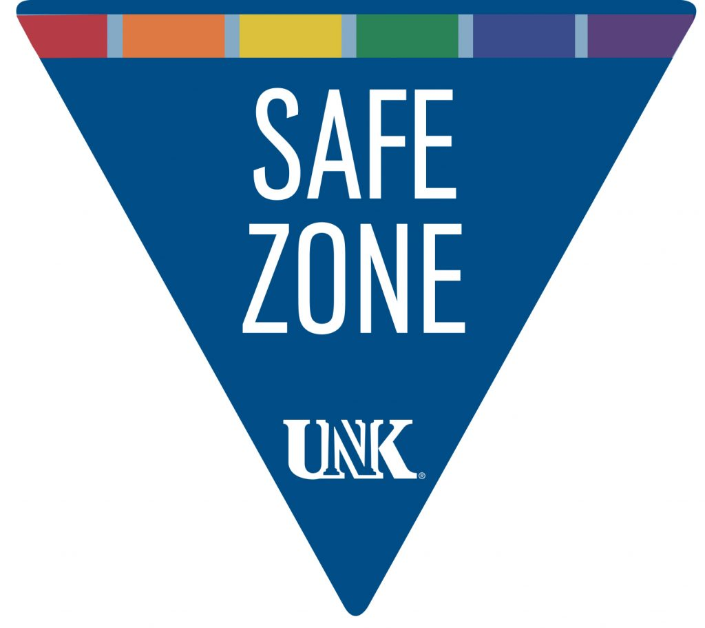 UNK offers Safe Space Training for faculty and staff. For more information, contact Lisa Mendoza at 308.865.8528.