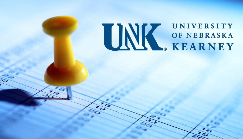 UNK Calendar Graphic