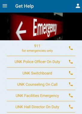 UNK Mobile App 4