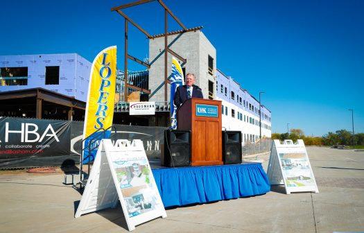 UNK celebrates 'First Look' at Village Flats with campus, community gathering