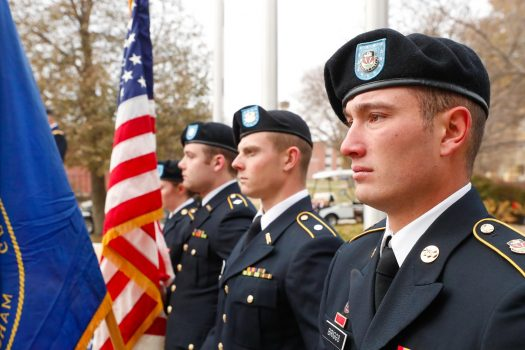 PHOTO GALLERY: Veterans Day Celebration at UNK