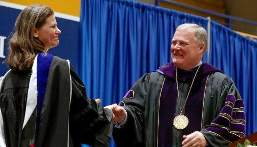Marguerite Tassi receives Holdt Distinguished Faculty Award