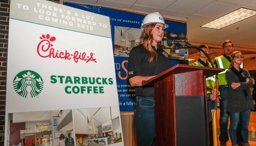 PHOTO GALLERY: Student Union construction kickoff